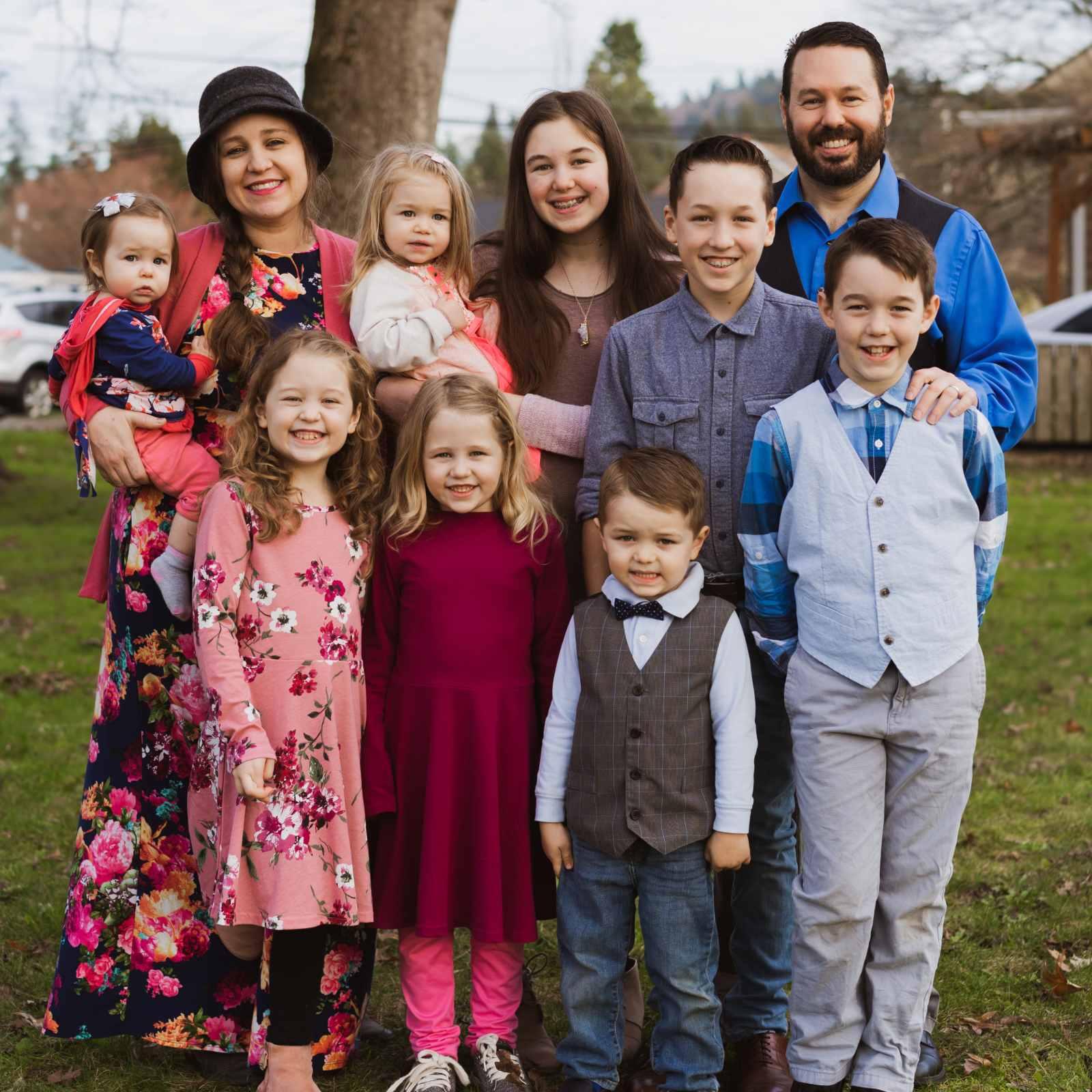 Pastor Scott LaPierre and family