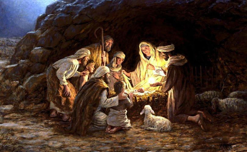 Christmas Characters – Mary and the Shepherds